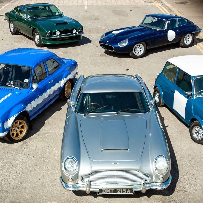 British THREE Car Driving Experience e.g Aston Martin Vantage + Aston Martin DB5 + Jaguar E-type £49.99 with code @ Virgin Experience Days