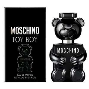 MOSCHINO Toy Boy Eau de Parfum for him 100ml Now £34.99 + Free Towel & Free Delivery From The Perfume Shop