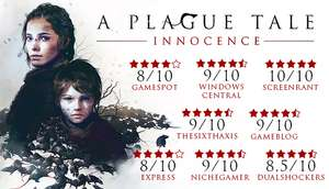 A Plague Tale: Innocence Pc Game Steam £11.99 at Steam Store