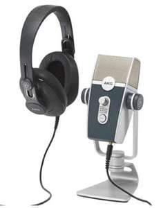 AKG Podcaster Essentials: AKG Lyra + K371 Headphones + Ableton Lite Software £192.99 @ Amazon