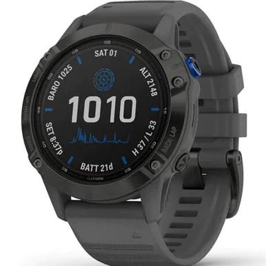 Garmin Fenix 6 Pro Solar Black Watch 010-02410-11 £598.50 with code @ dcleake