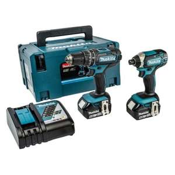 Makita DLX2131TJ 18v Drill LXT Twin Pack 5.0Ah Kit £239 @ My Tool Shed
