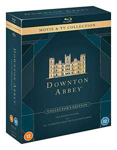 Downton Abbey Movie & TV Collection Blu-Ray (30 Discs in Total) £35.99 @ Amazon UK