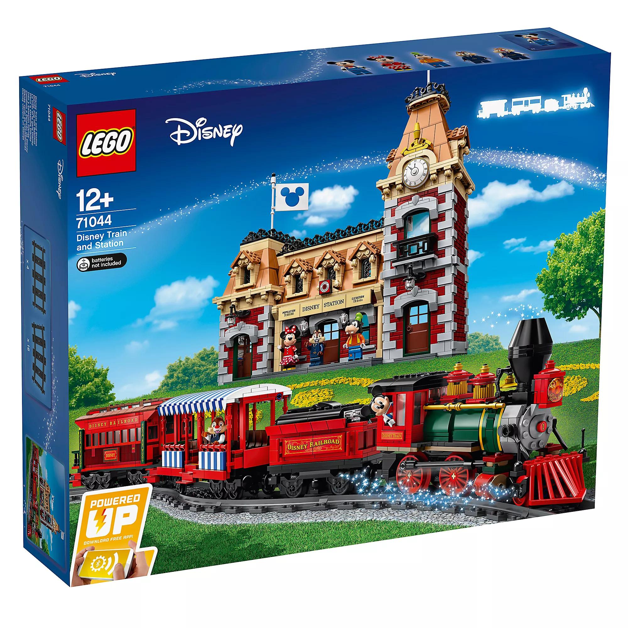 LEGO Disney Train and Station Set 71044 & LEGO Walt Disney World Castle Set 71040 £239.99 each at shopDisney