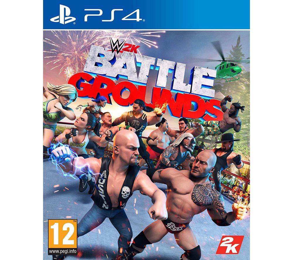 PLAYSTATION WWE 2K Battlegrounds ps4 £21.99 Currys
