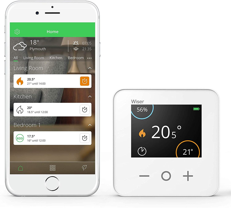 Drayton Wiser Smart Thermostat Starter kit - Combi Boiler £46.99 @ Amazon