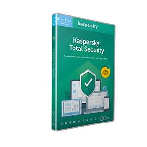 Kaspersky Total Security 2021 3 Devices 1 Year email activation £12.99 Amazon