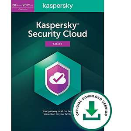 Kaspersky Security Cloud - £24.99 @ Amazon