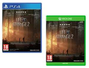 Life is Strange 2 (PS4/Xbox One) £8.99 Free Click & Collect @ Argos
