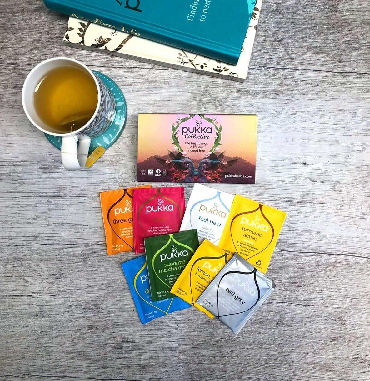 FREE welcome pack including 6 Pukka organic tea sachets (while stocks last) at Pukka Herbs