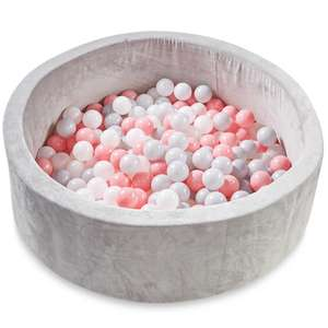 Nuby Ball Pit - Grey/Blue or Grey/Pink £29.99 at Aldi in store