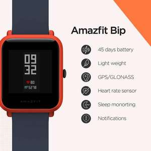 Xiaomi Amazfit Bip Smart Watch with GPS for £27.68 (paying with PayPal) delivered @ AliExpress Deals / amazfit Official Store