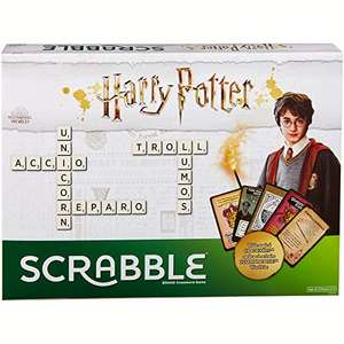 Mattel Games Scrabble Harry Potter Edition £16.49 (Prime) + £4.49 (non Prime) at Amazon