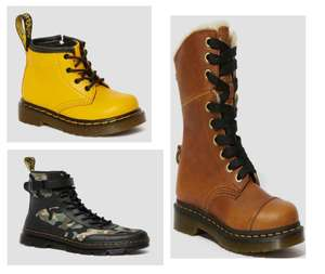 Up to 30% off Selected Dr Martens possible Extra 10% with News letter Sign up Delivery Free on £50 Spend @ Dr Martens