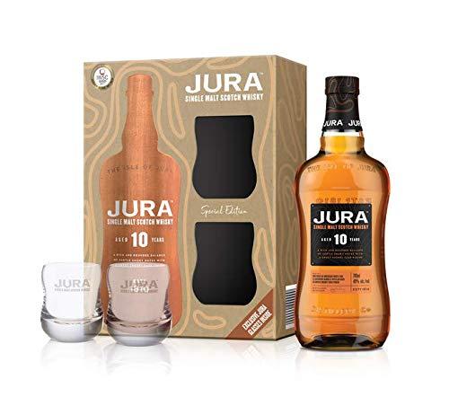 Jura Whisky 10 Year Old Single Malt 2 Glasses Gift Pack, 70 cl £26.50 @ Amazon