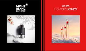 FREE sample of Montblanc Explorer and Flower by Kenzo at Boots