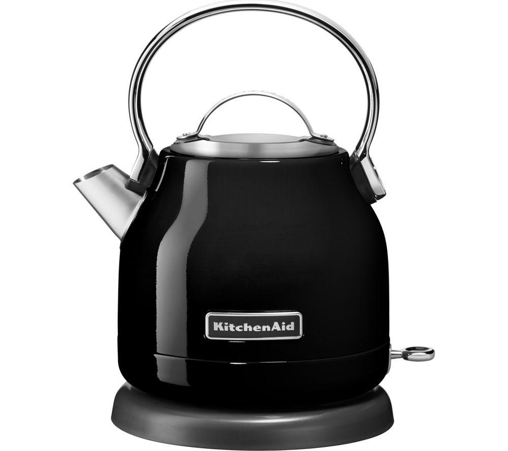 KITCHENAID 5KEK1222BOB Traditional Kettle - Onyx Black £49.99 @ Currys