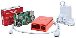 UCreate Raspberry Pi 4 4GB Model B Starter Kit (Red) £74.49 Sold by Almost Anything Ltd and Fulfilled by Amazon