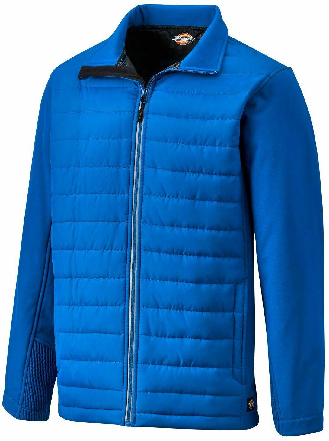 Dickies Loudon Work Jacket - Mens Royal Blue Padded Coat EH36000 -£16.50 dickies-outlet ebay