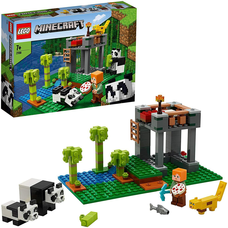 LEGO Minecraft 21158 The Panda Nursery Building Set with Alex and Animal Figures, £16 Prime @ Amazon (+£4.49 non Prime)
