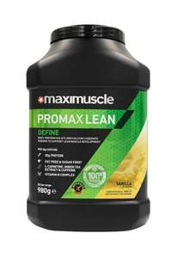 MAXIMUSCLE Promax Lean Protein Powder Vanilla Flavour 980g at Amazon for £25.99