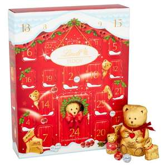 Lindt Teddy Milk Chocolate Advent Calendar £5 Lindt Advent Calendar (Blue one) £3 @ Coop Barnwood Gloucester