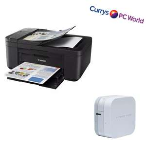 CANON PIXMA TR-4550 All-in-One Wireless Inkjet Printer with Fax £39.99 / BROTHER PT Cube PTP300BT Bluetooth Label Printer - £34 @ currys