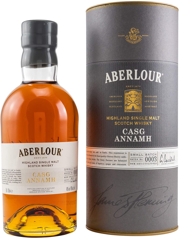 Aberlour Casg Annamh Single Malt Scotch Whisky, 70 cl (Batch 0004) - £40.99 Amazon