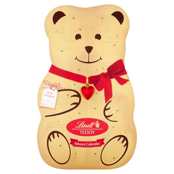 Lindt 3D Teddy Advent Calendar 310g £7.50 @ Lindt Shop (£3.95 Delivery)