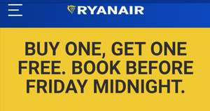 Two for One Flights @ Ryanair