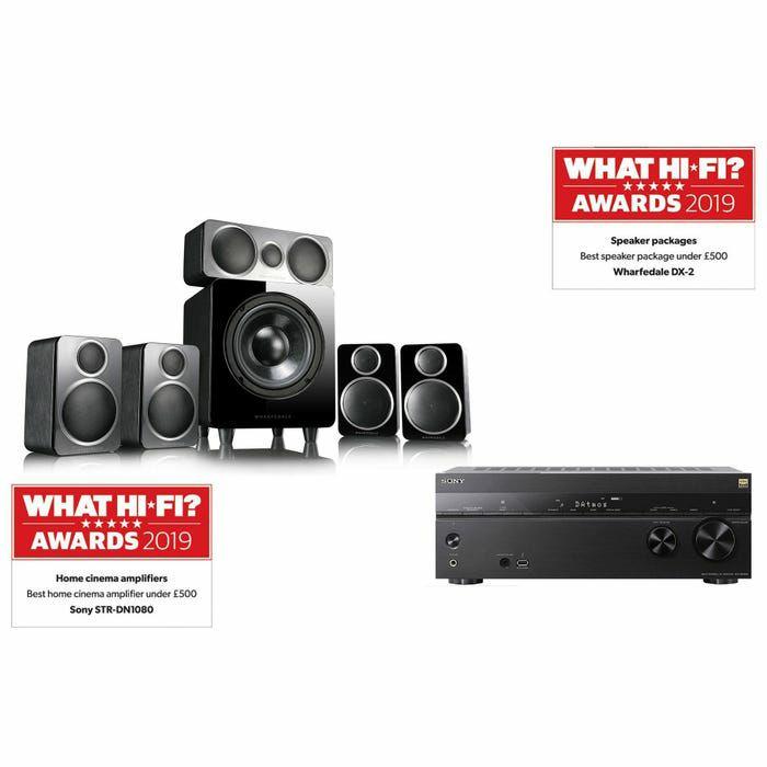 Sony STRDN1080 & Wharfedale DX2 Atmos AV Receiver & 5.1 Speaker Package £699 @ Richer Sounds