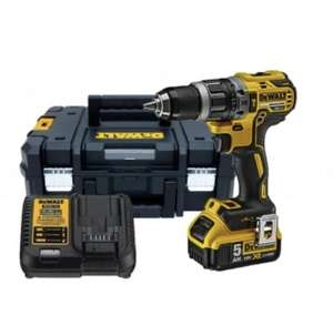 DeWalt DCD796P1 XR Brushless Combi Drill 18 / incl. 1x 5.0Ah Battery / Kitbox / Charger / And more+ £119.99 @ Powertoolmate