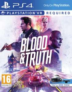 Blood & Truth PS VR Game (PS4 with PS5 upgrade) £13.99 (Free Click & Collect) @ Argos