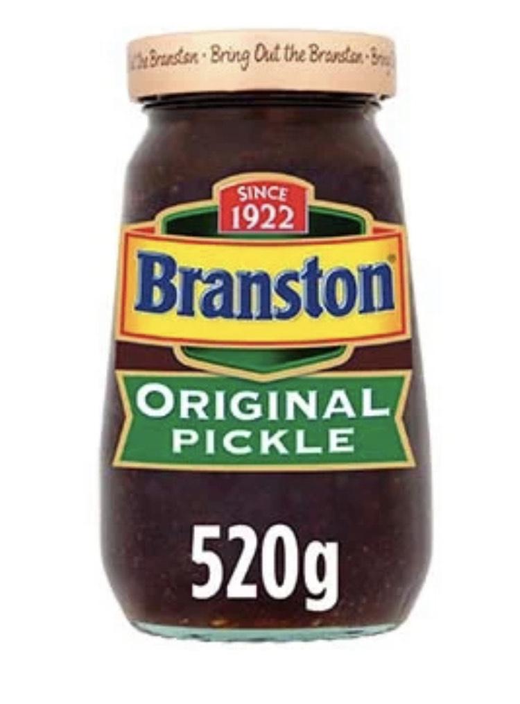 520g Branston Pickle, 520g - £1.29 @ Farmfoods