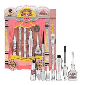 benefit Magnificent Brow Show Gift Set - includes 5 full price products £39.37 delivered using code @ LOOKFANTASTIC