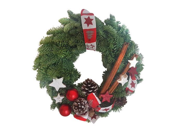 Noble Fir Christmas Wreath 30cm £1.99 instore @ Lidl
