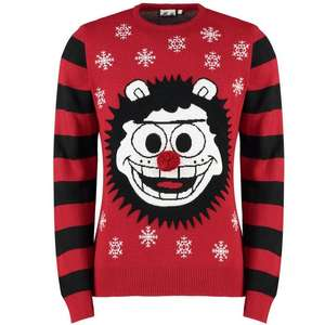 Beano Gnasher Christmas jumper - £7.50 with site-wide code / £11.49 delivered at Beano Shop