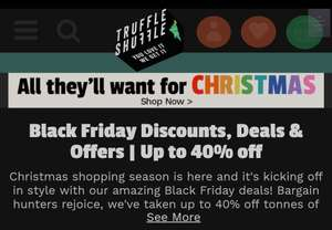 Truffle Shuffle up to 40% off e.g. Friends accessories advert calender Now £10.79 / £14.74 delivered