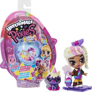 HATCHIMALS 6056539, Cosmic Candy Pixie with 2 Accessories and Exclusive CollEGGtible - £7.99 Prime / +£4.49 non Prime @ Amazon
