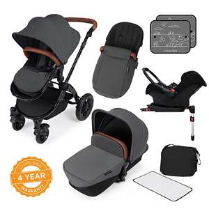 Ickle Bubba Stomp V3 All in one Travel System/Isofix Base £349.99 +£2.95 delivery @ Asda