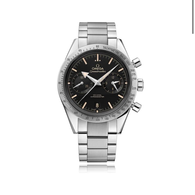 Omega speedmaster 57 automatic watch ref 331.10.42.51.01.002 £5355 @ Bucherer