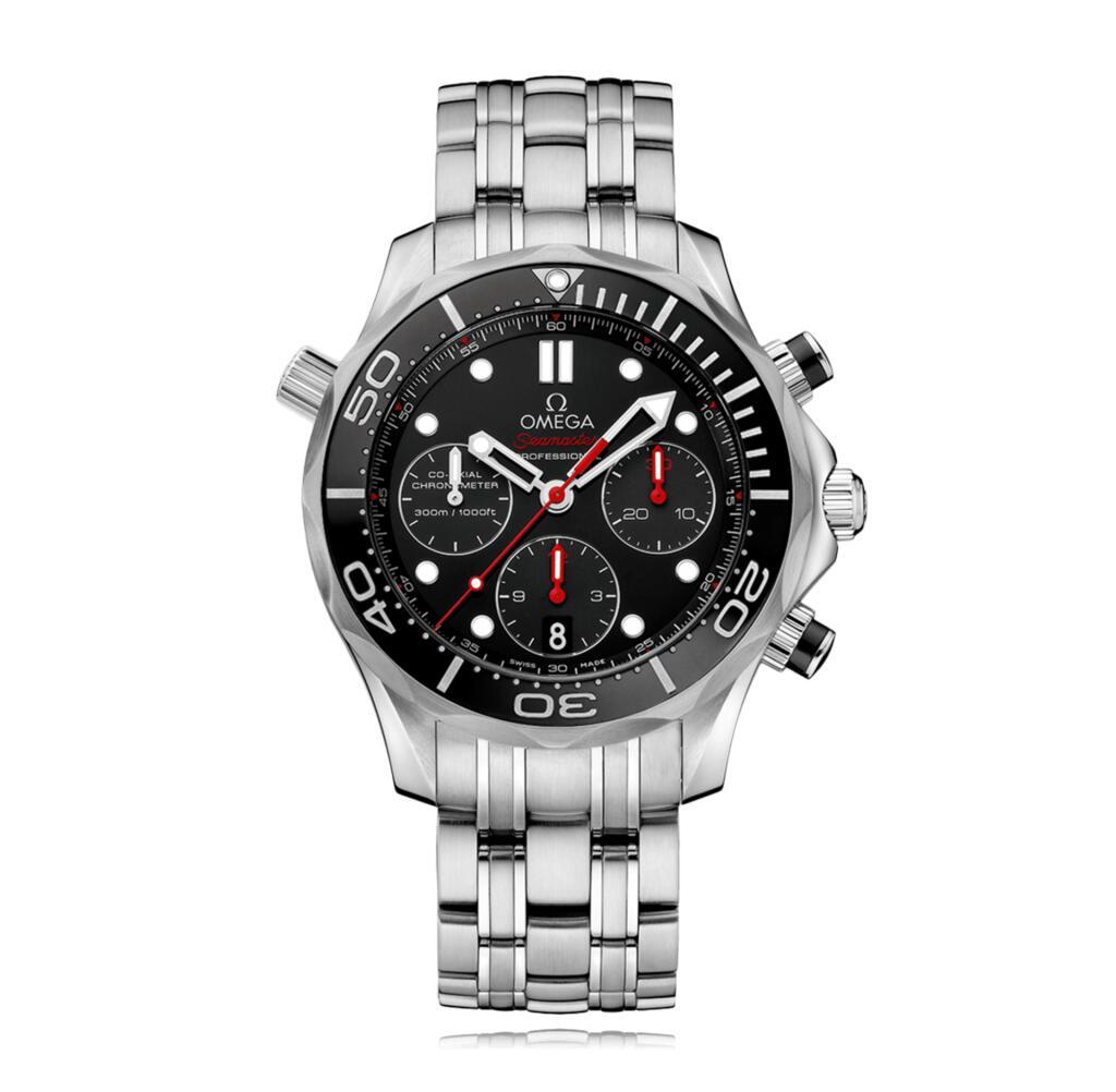 OMEGA Seamaster Diver 300m Automatic Chronograph Men's Watch £3262.50 @ Bucherer (Secret Sale)