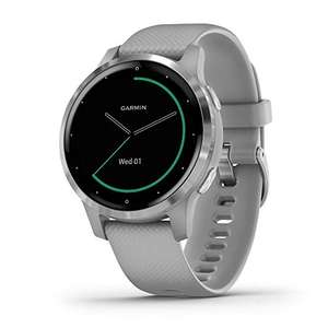 Garmin Vivoactive 4S - Powder Grey / Silver £189 @ Amazon