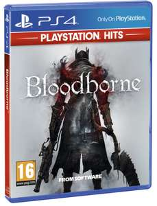 Bloodborne (PS4) - PlayStation Hits (PS4) - £8.99 / (+£2.99 Non Prime) delivered @ Amazon