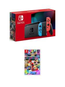 Nintendo Switch Nintendo Switch Console (Improved Battery) with Mario Kart 8 Deluxe £299.99 ( £254 BNPL) at Very