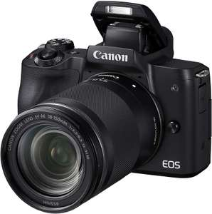 Canon EOS M50 Compact System Camera and + EF-M 18-150mm Lens kit - Black £599 Amazon