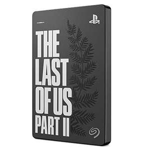 Seagate Game Drive for PS4 2 TB External Hard Drive Portable HDD - USB 3.0 The Last of Us II Special Edition £63.99 Amazon