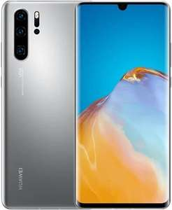 Pre-owned Huawei P30 Pro Dual Sim 8GB+256GB Silver Frost, EE B New Edition - Grade B £360 @ CeX