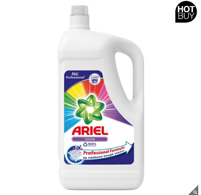 Ariel Colour Laundry Liquid, 130 Wash £13.99 Costco