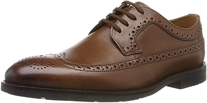 Clarks men's Ronnie limit leather brogues - £25.53 @ Amazon